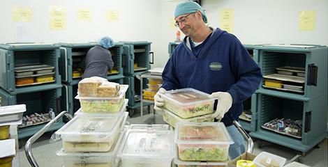 Services d'alimentation des patients et Services de nutrition clinique